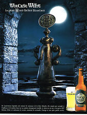 PUBLICITE ADVERTISING  2000   WIECKSE WITTE   bière blanche 1