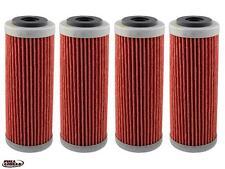4-Pack Oil Filter KTM Hiflo 350-530cc EXC,SX,XC-F,EXC,XCW,EXC,SMR,SX,XC-RW 07-15