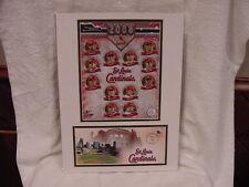 VERY SCARCE St. Louis Cardinals 2008 USPS Team Photo/Postal Cache, MINT!