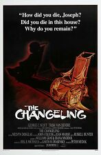 THE CHANGELING Movie Poster 1980 Horror