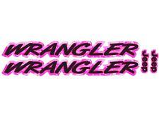 Kapuze Aufkleber Für Wrangler - Pink Tarnfarbe - 2pc Set - Yj Tj XJ JK Vinyl