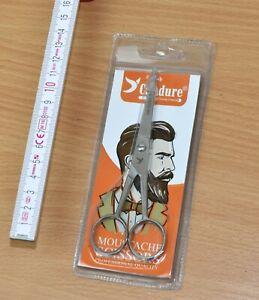 Candure Männer - Bartschere / Moustache Scissors, Prof. Quality, 13cm, neu