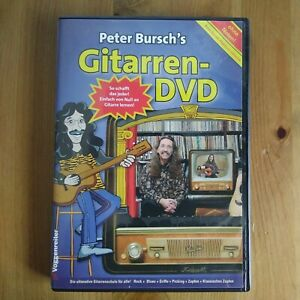 Peter Bursch's Gitarren-DVD Gitarre lernen