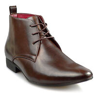 NEW MENS SMART WEDDING SHOES ITALIAN FORMAL OFFICE WORK CASUAL BOOTS SIZES 6-11