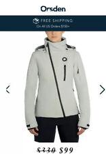 Orsden Women's Grey Lift Jacket ( New Orsden Women's Slope Ski Jacket )