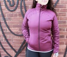 WARM! Winter Coat ❤️ Lululemon Run for Cold Jacket Full Zip Plum Sz 6 NWT $198