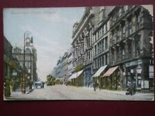 POSTCARD GLASGOW GLASGOW - SAUCHIEHALL STREET - TRAMS IN STREET