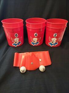 Vintage Bozo The Clown Bucket Bonanza Grand Prize Game  Complete