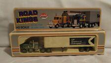 Road Kings Road Haulers Semi Truck. CP Rail Tractor Trailer HO Scale. 7754-3.