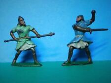 CHERILEA VINTAGE 1950s RARE LEAD ASSYRIANS WARRIOR SOLDIERS IN BATTLE FIGHTING