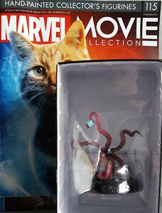 Marvel Movie Collection #115 Goose Figurine (Captain Marvel) Eaglemoss Engl. Mag
