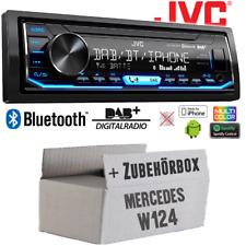 Car Stereo Radio JVC for Mercedes W124 DAB+ USB Built-In Accessory Installation