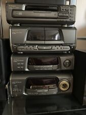 Technics Sa-EH600 Stereo HI FI Separates Stack Sound system 5x Speakers