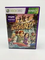 Kinect Adventures! (Microsoft Xbox 360, 2010) Tested Working