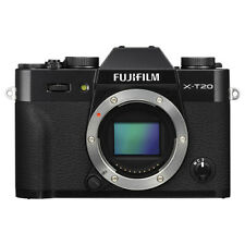 Fujifilm X-T20 Mirrorless 24.3MP 4K Fuji X T20 Digital Camera Body Black