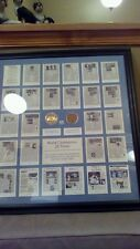 NEW YORK YANKEES Framed & Matted world champions INFIELD DIRT & LIMITED COIN