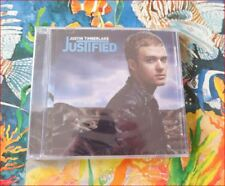 """Justin Timberlake New Sealed FREEPOST """"Justified"""" CD *Cry Me a River/I Love You"""