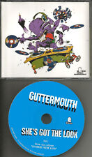 GUTTERMOUTH She's got the Look ULTRA RARE 2001 USA PROMO Radio DJ CD single MINT