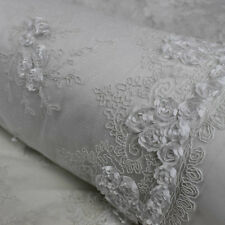 Matte Floral Embroidery with Corded Lace Fabric by the Yard - Style 2412