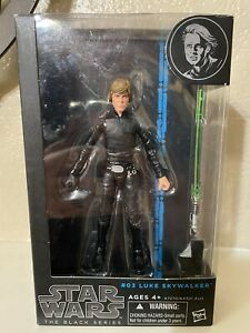 Star Wars Black Series #03 Jedi Knight Luke Skywalker 6 inch MODIFIED Figure
