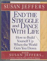Susan Jeffers End Struggle & Dance With Life 2 Cassette Audio Book Self Help