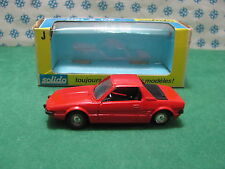 FIAT  X1/9        -  1/43  Solido serie J   n° 33
