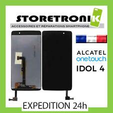 LCD + VITRE TACTILE ASSEMBLÉE ALCATEL ONE TOUCH IDOL 4 NOIR OT6055 6055