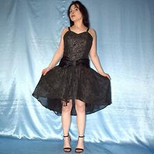 80er Glitzer COCKTAILKLEID* S 38 * Minikleid* Maxikleid* Etuikleid* Abendkleid
