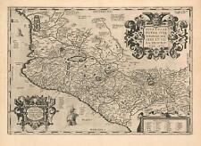 1592 Ortelius Map of Mexico