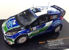 IXO MODELS FORD FIESTA RS WRC Dani Sordo RAM516 Rally Argentina 2012 DIECAST