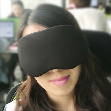 3D Travel Memory Sponge Sleep Eye Mask Cover Patch Sleeping Blindfold Rest Aid