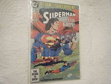 SUPERMAN DC 82 OCT93 30 REIGN OF THE SUPERMEN BACK FOR GOOD MINT CONDITION