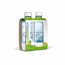 SodaStream 1l Bottle Twin Pack White 1042211610