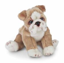 Stuffed Toy Bulldog Bean Bag Plush Stuffed Animal Puppy Dog Collection 13� New