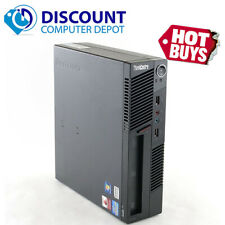 Lenovo ThinkCentre M91P Desktop PC Quad Core i5 2.5GHz 4GB 500GB Windows 10 Pro