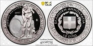 Greece 2017 10€ Diogenes Greek Culture Proof Coin PR69DC