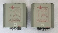 Pair UTC LS-51 Push Pull Plate to Line Tube Preamp Balanced Output Transformer B