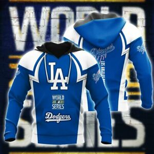 Los Angeles Dodgers World Series Do Unisex 3D Printed Casual Hoodie Pullover