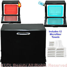 Mini UV Hot Towel Cabi Warmer Sterilizer 12 Hand Towels Beauty Salon Equipment B