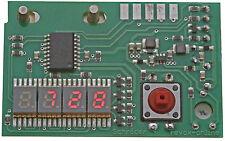 Zähler 77 Counter red 0,2 inch Revox B77 Nullunterdrückung rot 5,1 mm 5,08 mm