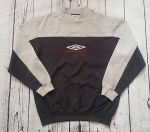Vintage Umbro Embroidered Logo Spell Out Sweatshirt Size Medium