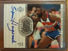 SPENCER HAYWOOD 2000 UD LEGENDARY SIGS AUTO AUTOGRAPH IN CASE BULLETS SONICS =]
