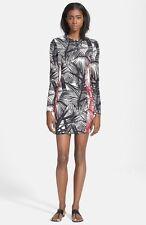 NEW Elizabeth and James 'Mailyn' Palm Print Body-Con Dress Size 2 $345 Z2156