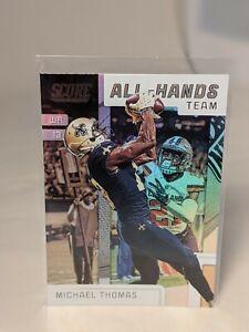 """2019 Score Michael Thomas """"All-Hands Team"""" #AHT-5 - New Orleans Saints"""