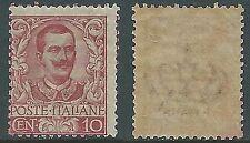 1901 REGNO FLOREALE 10 CENT MNH ** - Y141