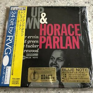 Up & Down by Horace Parlan Japan mini LP sleeve CD Obi Blue Note Grant Green