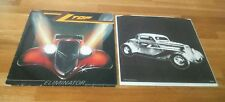 ZZ Top Eliminator German LP With Inner Warner Bros 92-3774-1 Classic Hard Rock