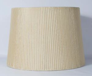 """Urbanest Box Pleated Drum Lampshade,10"""" x 12"""" x 8.5"""",Spider Fitter 7 colors"""