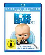 The Boss Baby - 3D + 2D - 2 Blu Ray
