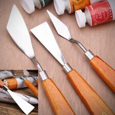 Stainless Steel Palette Knife Scraper Spatula Set For Artist Oil Painting Tool
